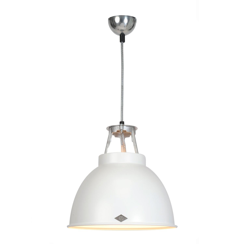 Titan Size 1 Pendant Light White with White Interior
