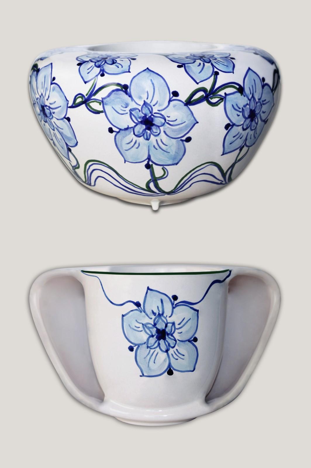 ToastyMUG - hands warmer mug White with Decoration