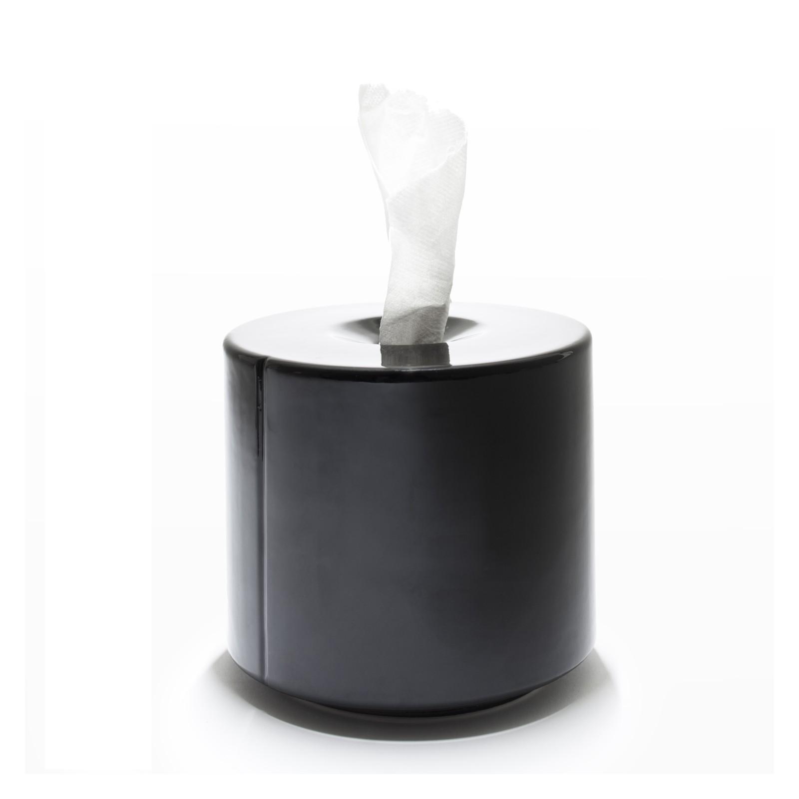Tobo Ceramic Paper Storage White