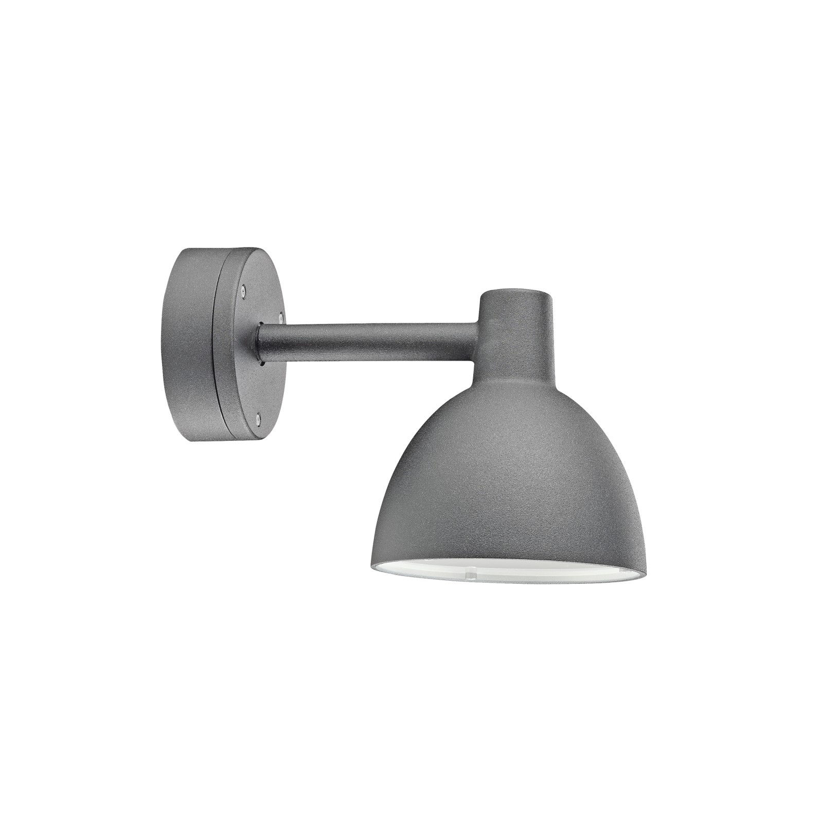 Toldbod 155 Outdoor Wall Light Aluminium Coloured