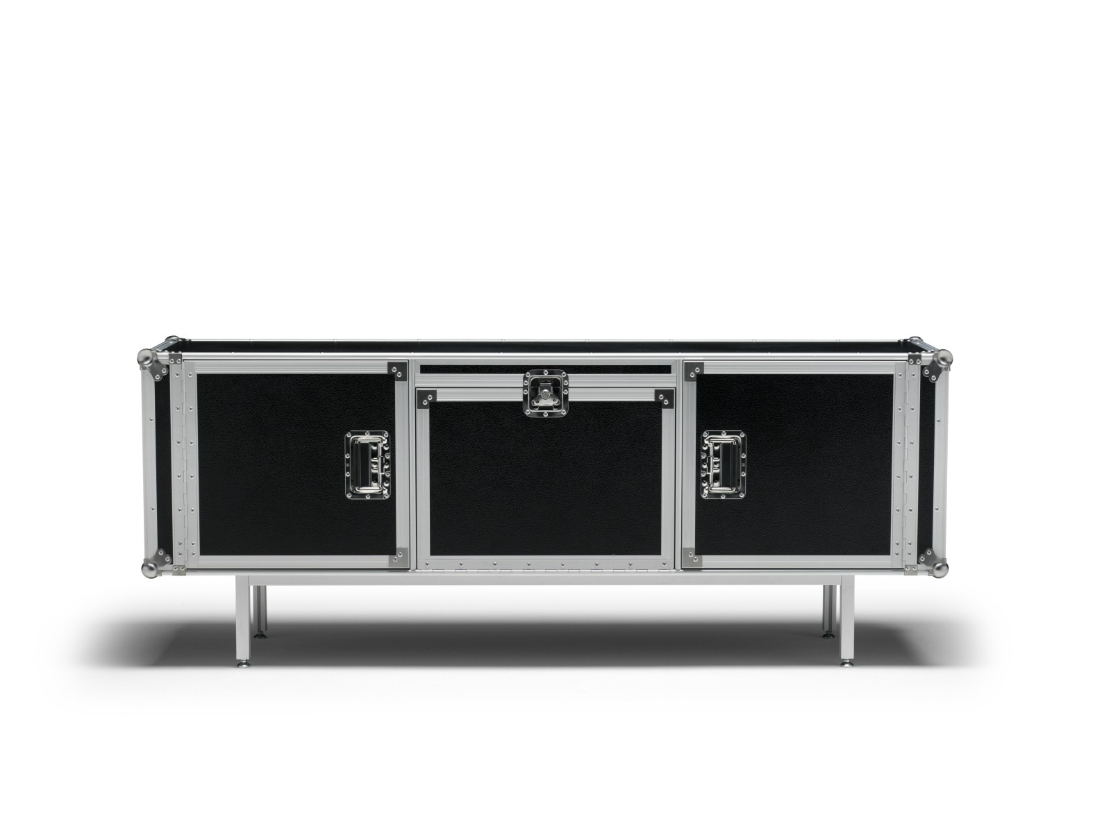 Total Flightcase Sideboard Blackboard, Long