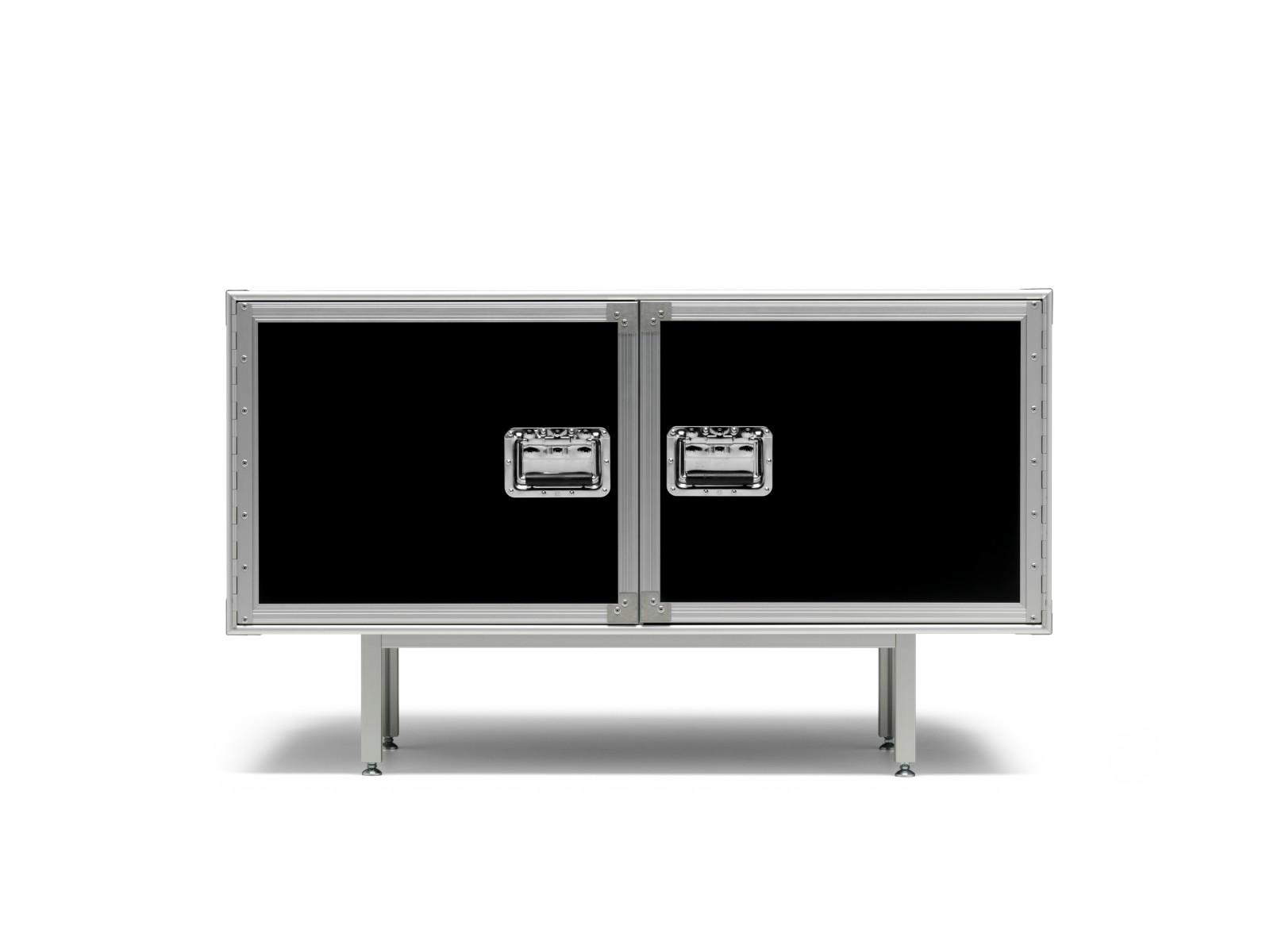 Total Flightcase Sideboard Blackboard, Short