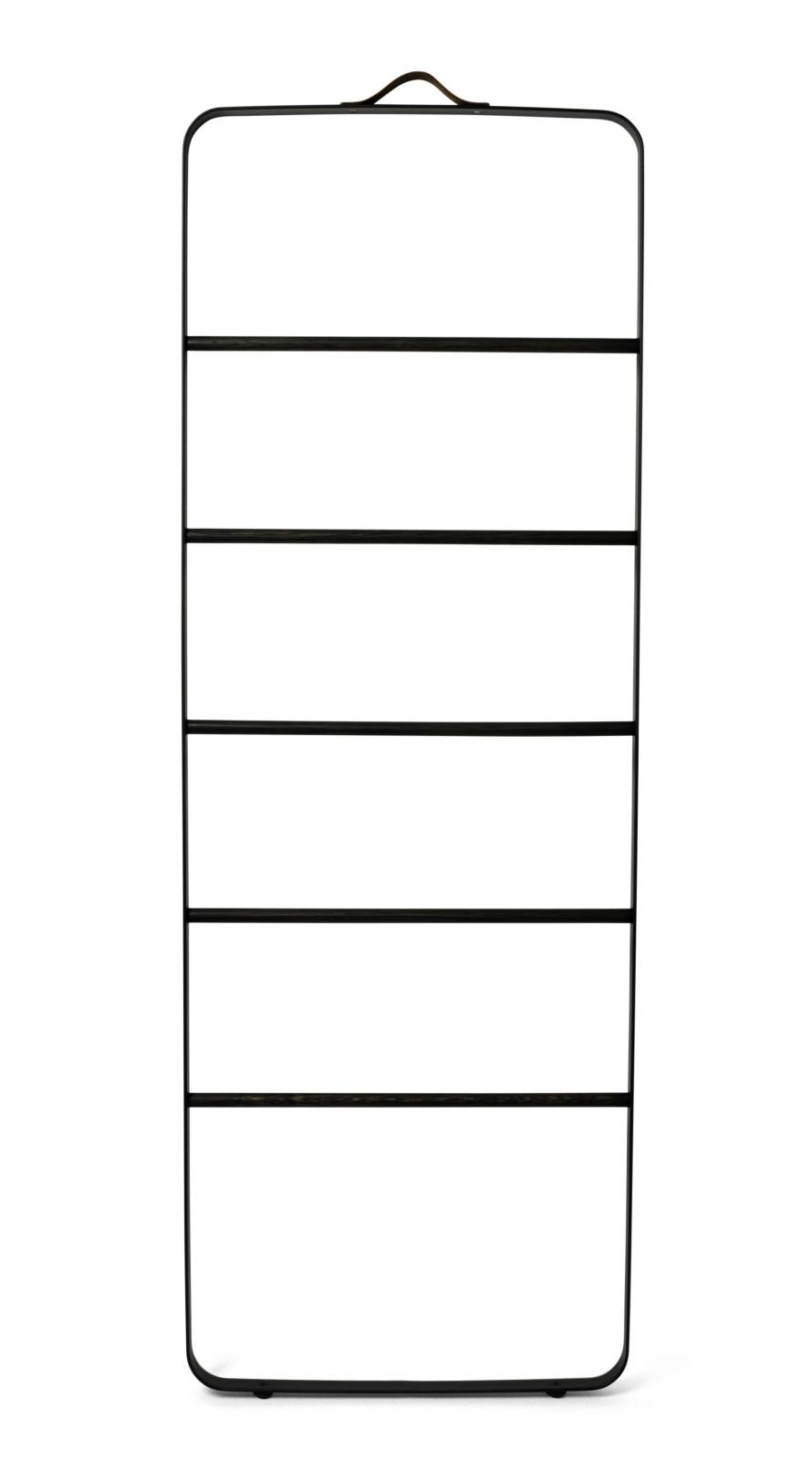 Towel Ladder Black & Dark Ash