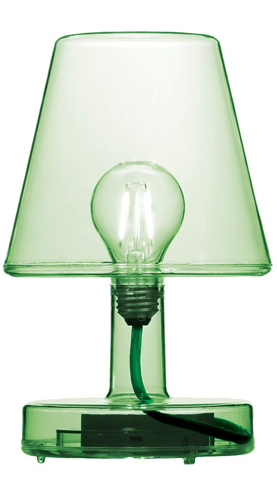 Transloetje Table Lamp Green