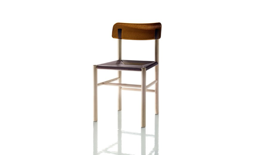 Trattoria Dining Chair - Set of 2 Brown