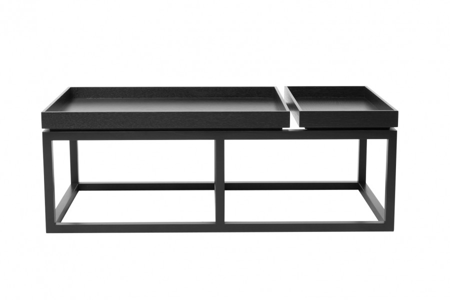 Tray Coffee Table Black