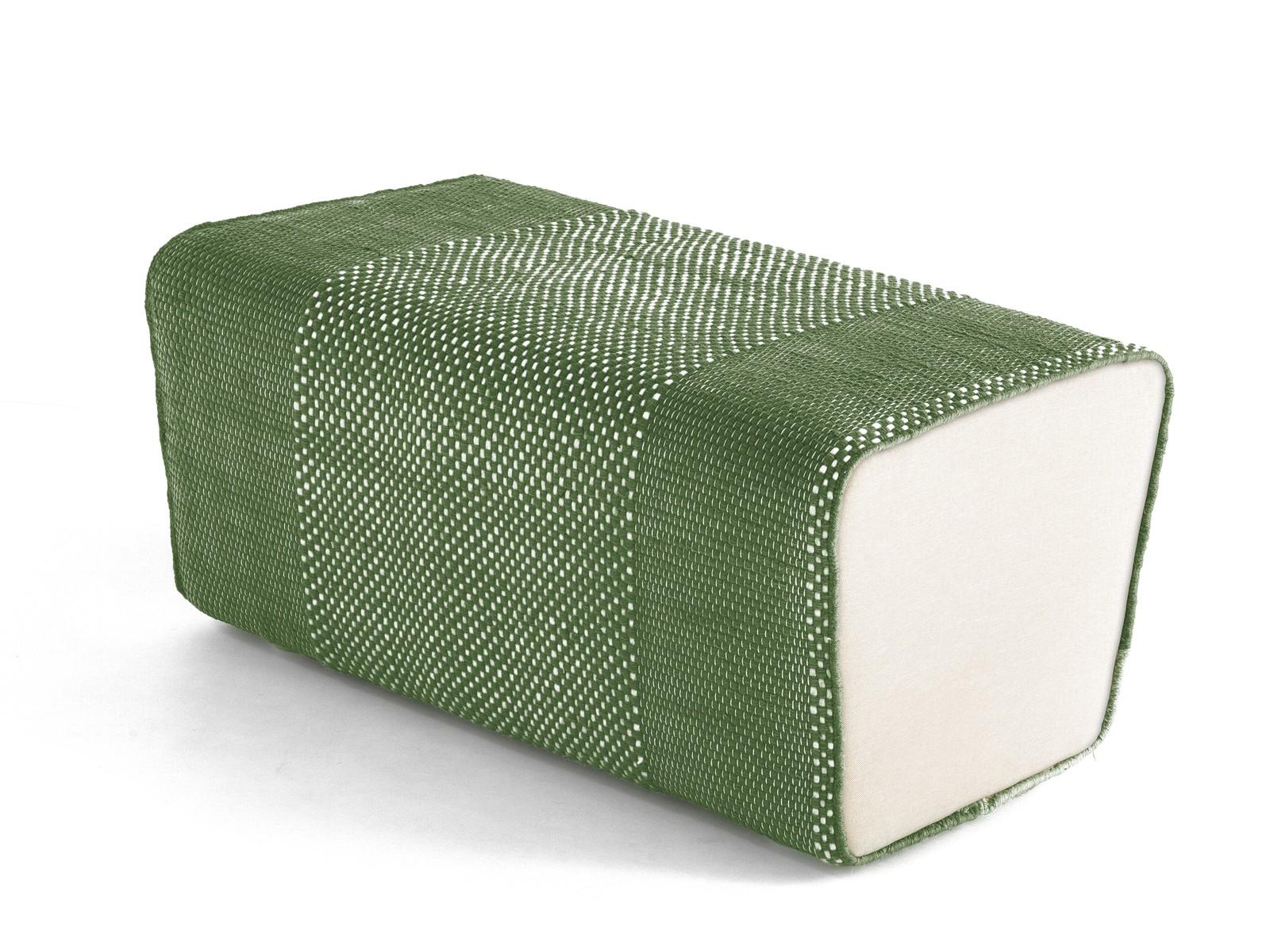 Tres Pouf Green