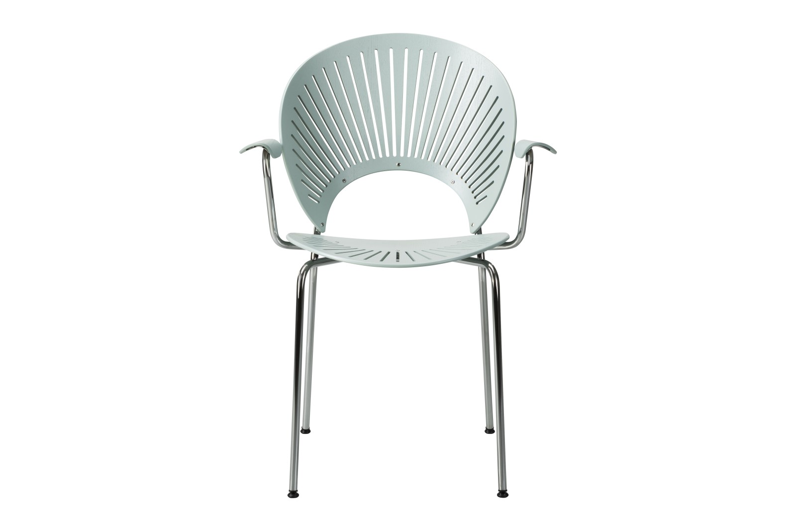 Trinidad Armchair Ocean, Chrome