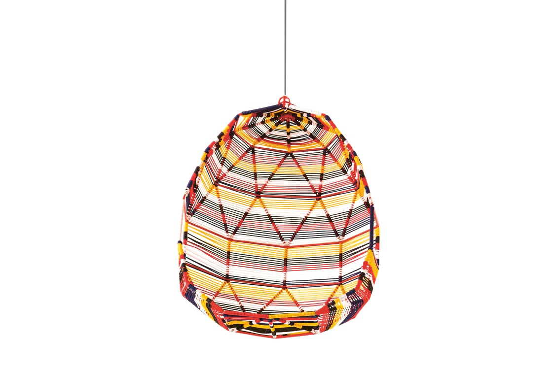 Tropicalia Cocoon with 5 Cushions Multicolour polymer cord, A8437