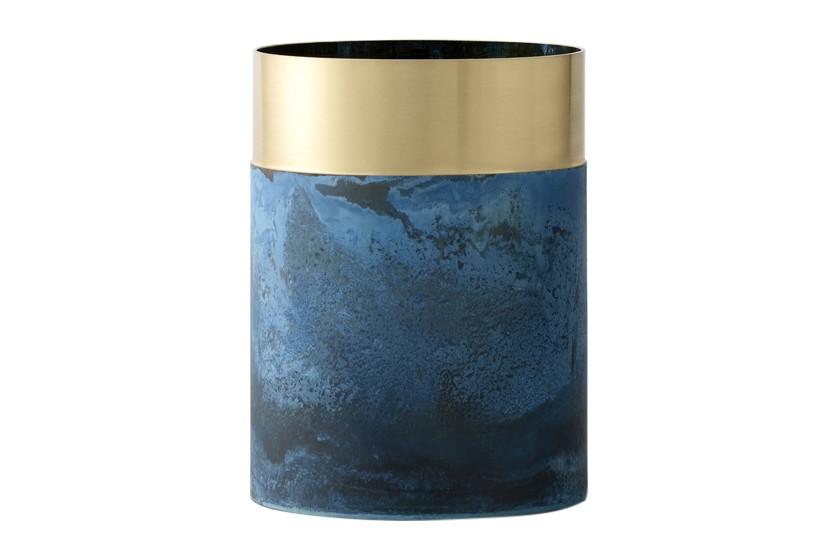 True Colour Vase - set of 2 LP5 - Blue Brass