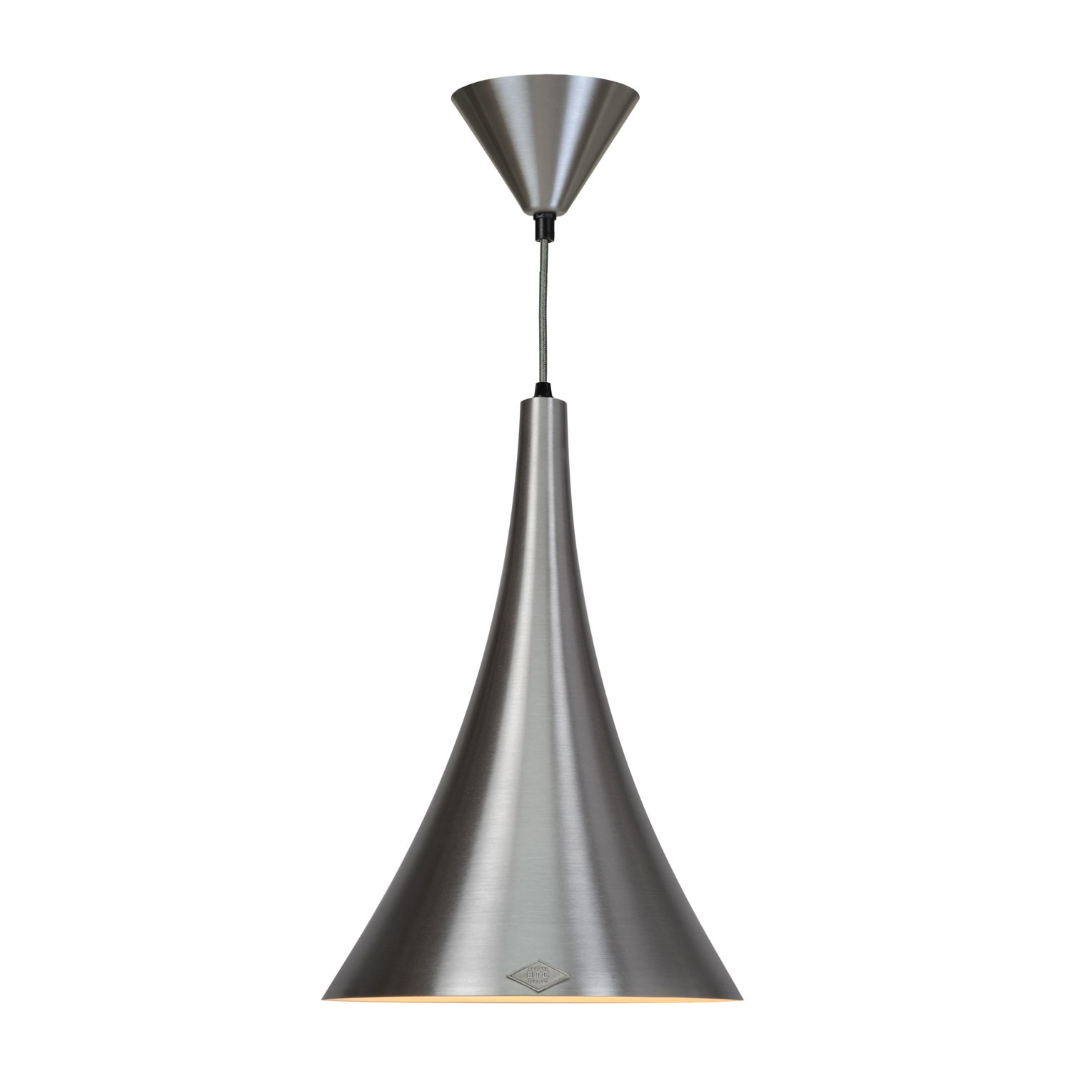 Trump Pendant Light Brushed Aluminium
