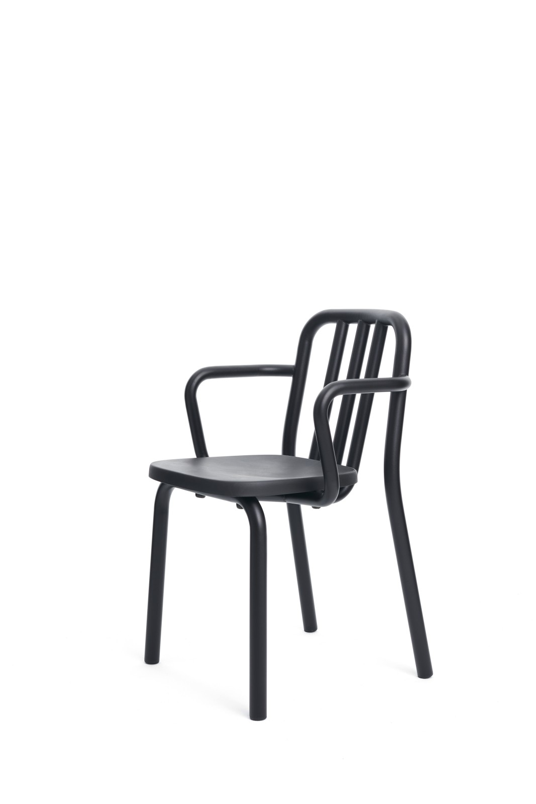 Tube Armchair Black