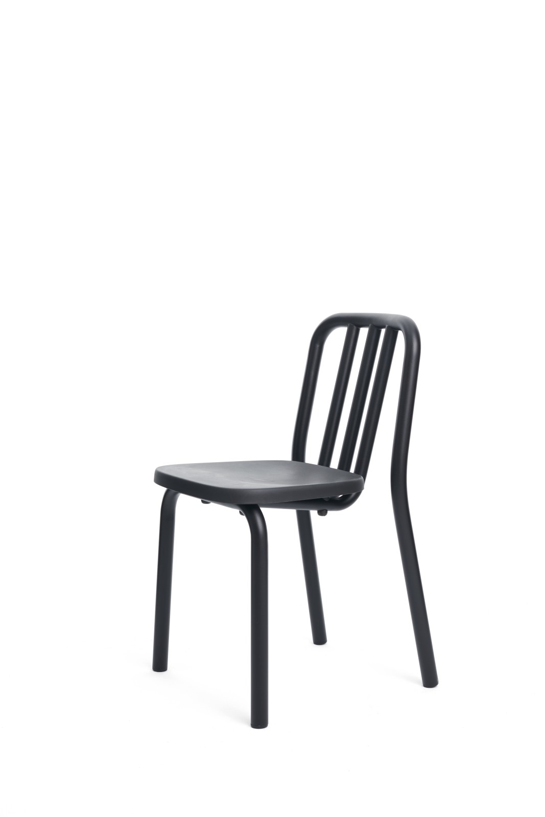 Tube Dining Chair Black