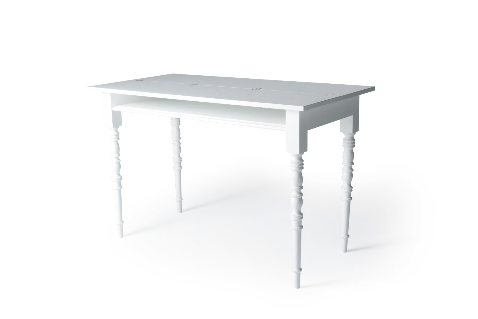 Two Tops Desk Moooi White Wash