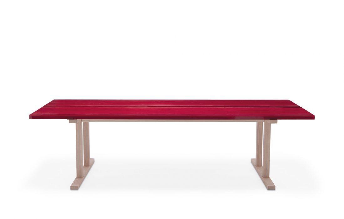 Udukuri Table Ruby Red