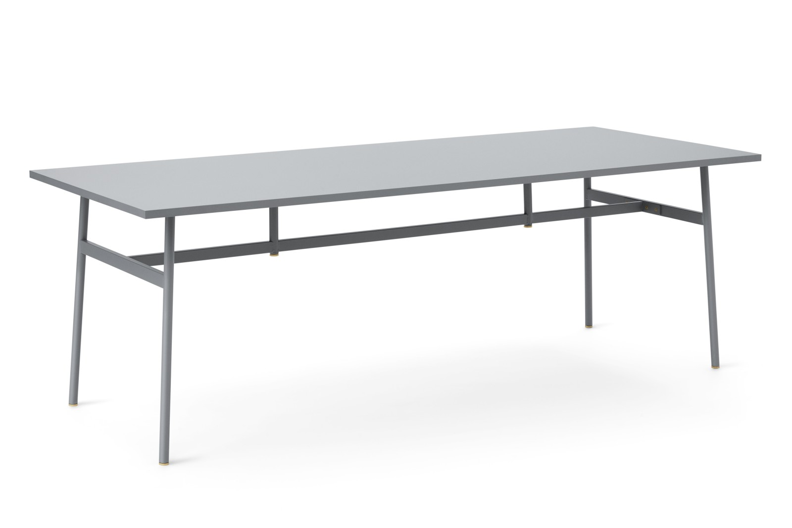 Union Rectangular Dining Table Grey, 220