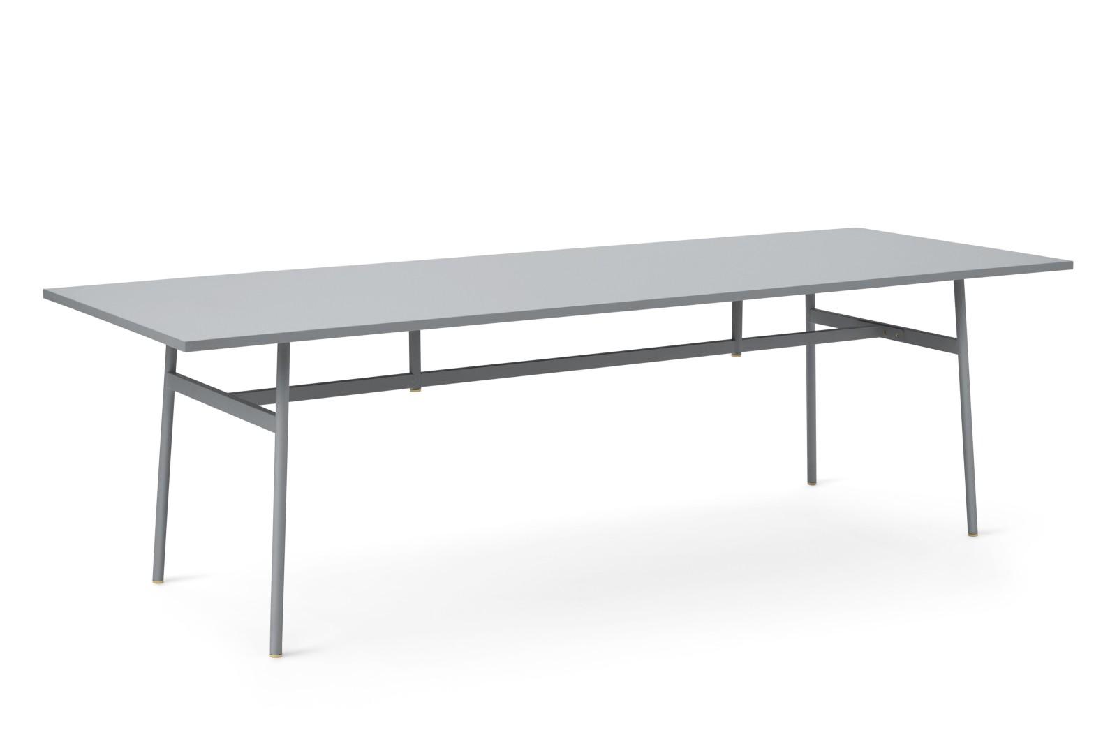 Union Rectangular Dining Table Grey, 250