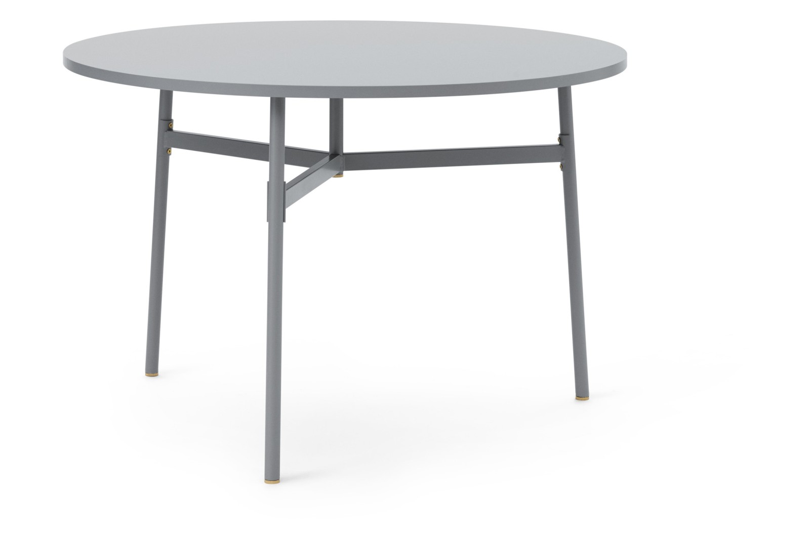 Union Round Dining Table Grey, 110