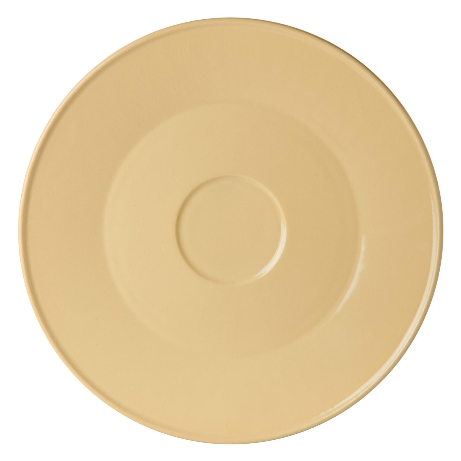 Unison Ceramic Big Plate Yellow