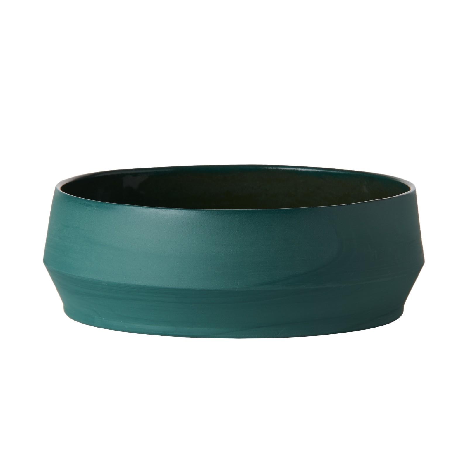 Unison Ceramic Soup Bowl Teal
