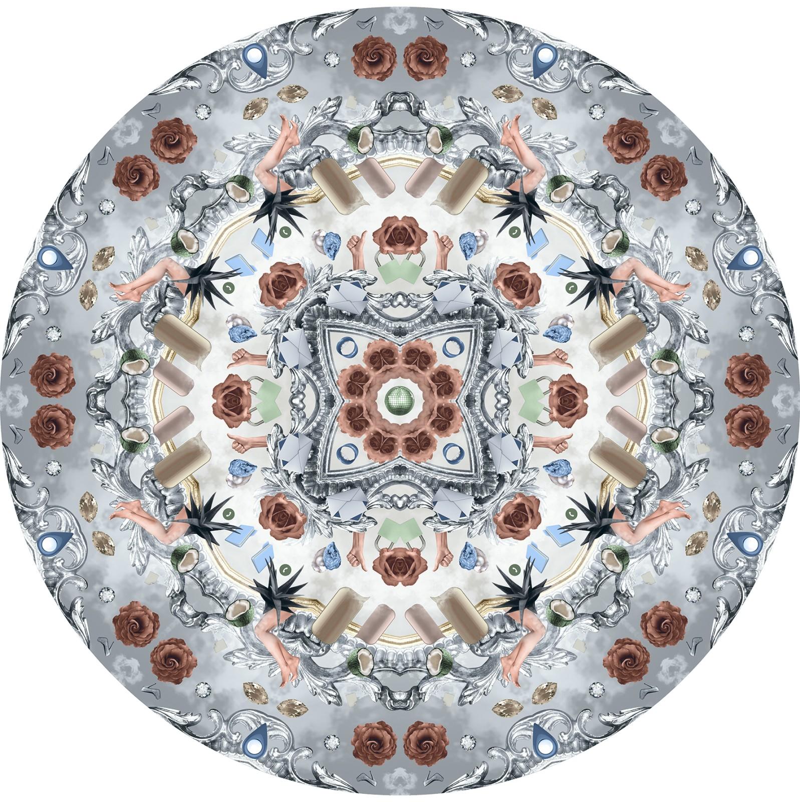 Utopian Fairy Tales Rug Ice, Polyamide, 0350 cm