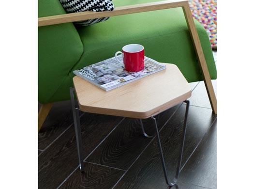 V1 Hexagonal Coffee Table Oak