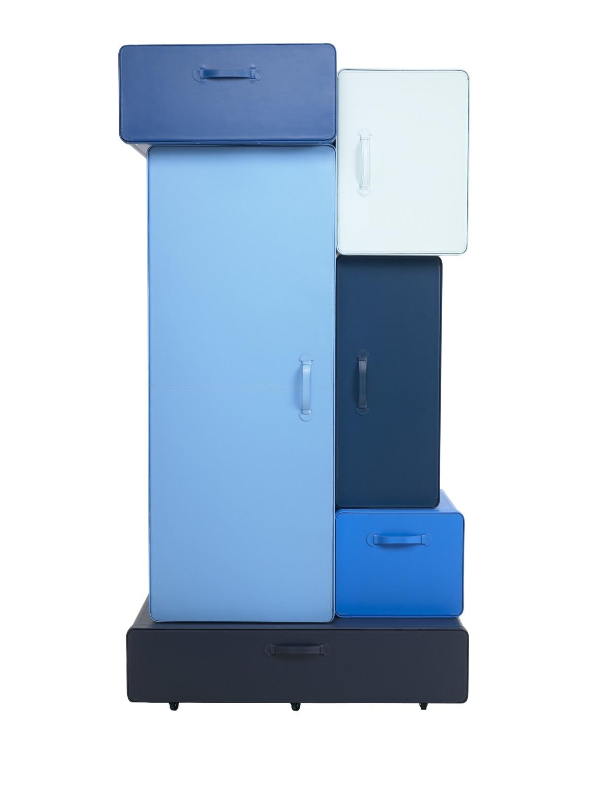 Valises Wardrobe nuances of blue