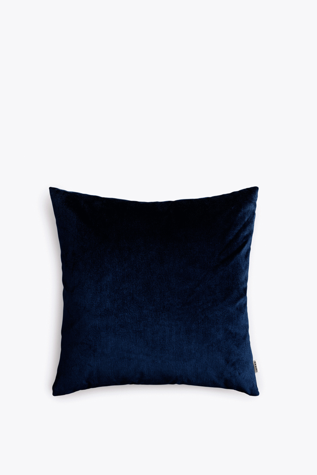 Velvet Cushion Marine Blue