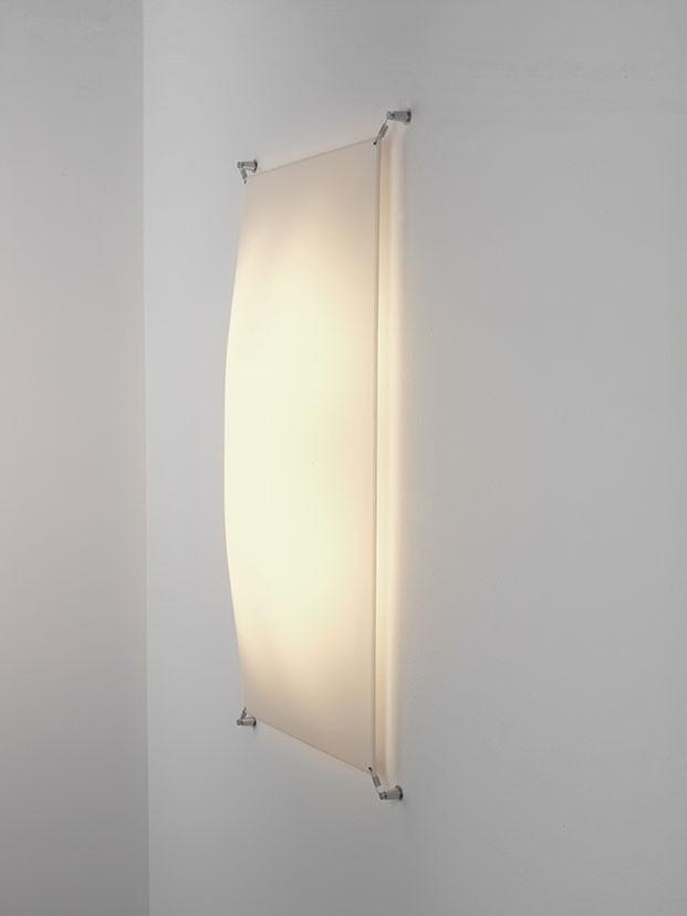 Veroca 80x40 Fluorescent Wall Lamp Yes