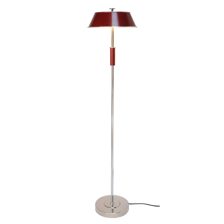 Victor Floor Lamp Burgundy Red