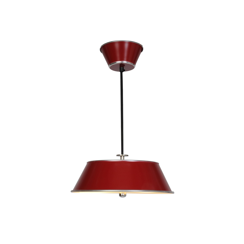 Victor Pendant Light Burgundy Red