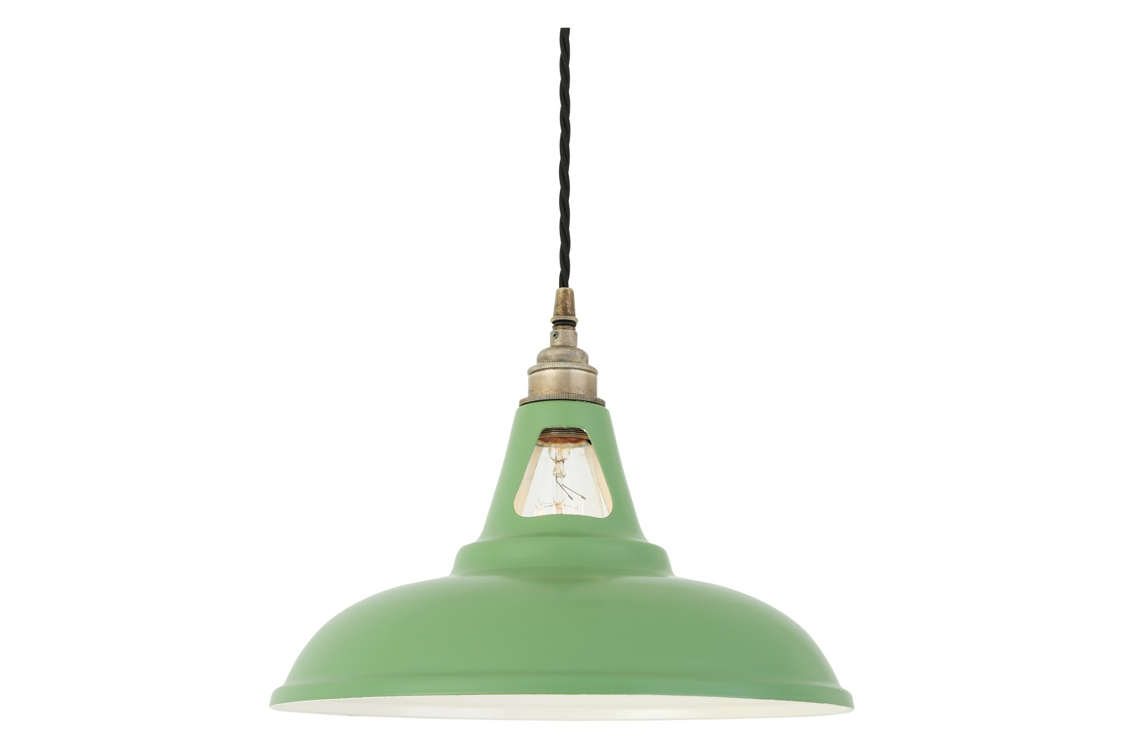Vienna Pendant Light Powder Coated Sage Green