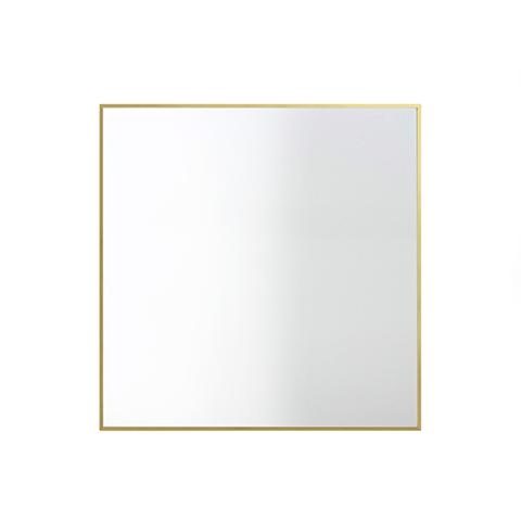 View Mirror - Set of 2 56 x 56cm, Brass