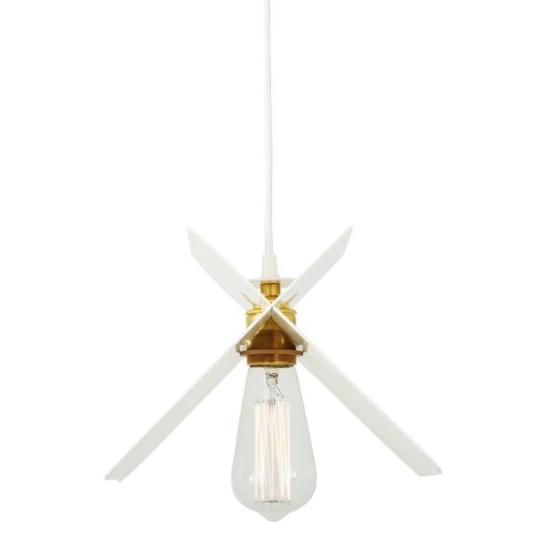 Vilnius Pendant Light Powder Coated White