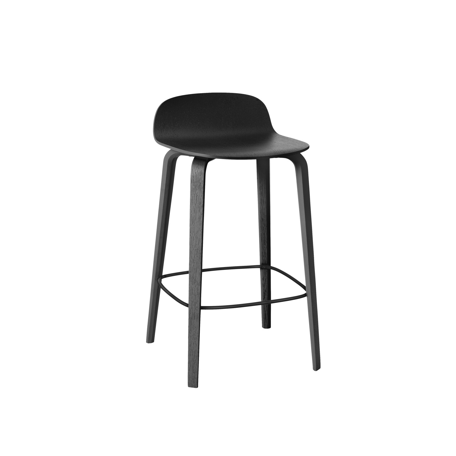 Visu Bar Stool Black, 65