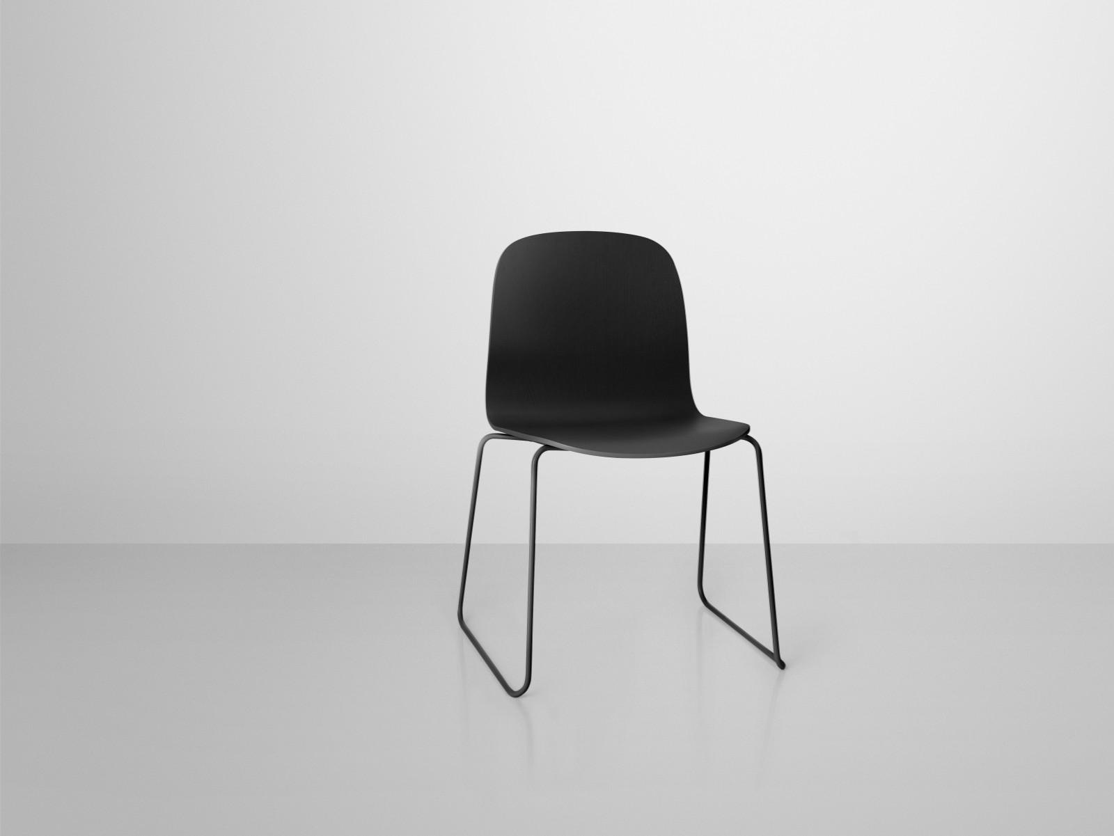 Visu Chair Sled Base Black