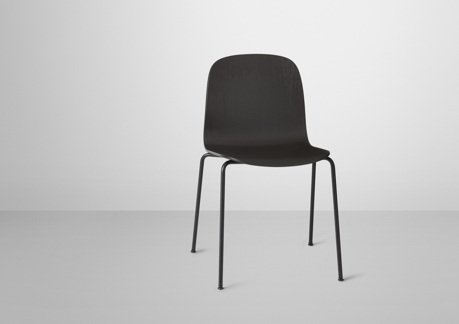 Visu Chair Tube Base Black/Black
