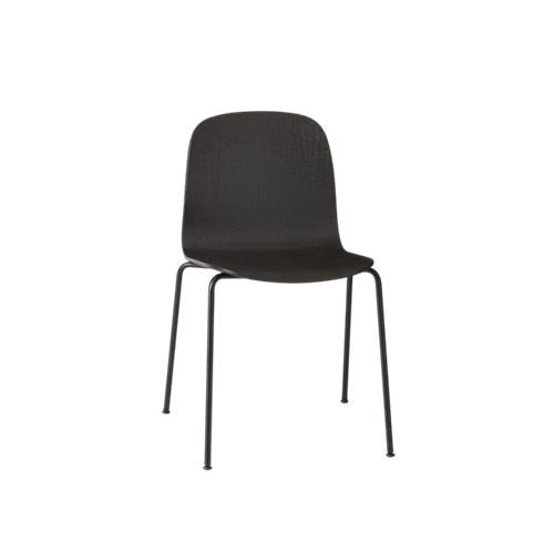 Visu Chair Tube Base Black/Black