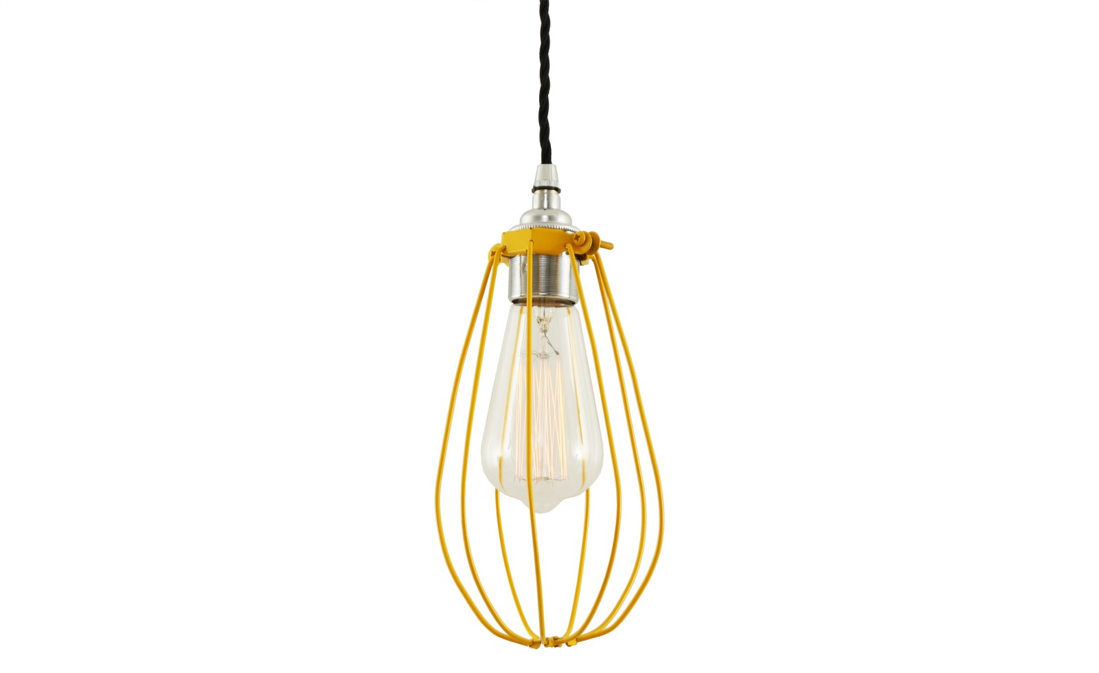 Vox Pendant Light Powder Coated Yellow