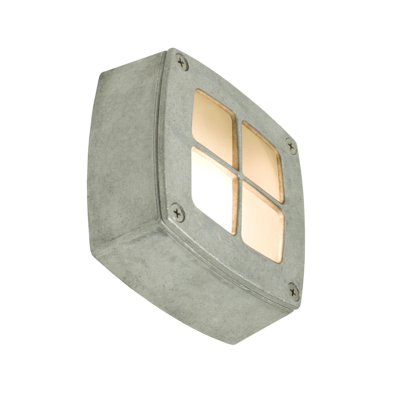 Wall/Ceiling Light Square 8140 Aluminium