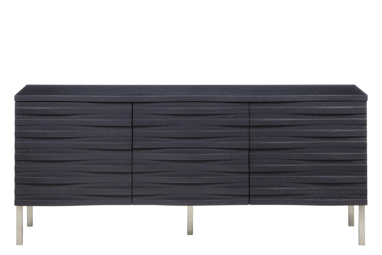 Wave Sideboard Charcoal