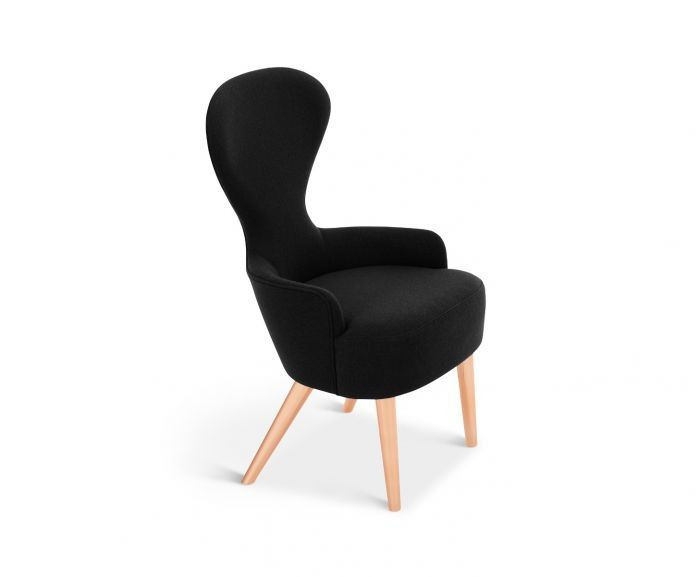 Wingback Dining Chair Copper, Hero 101