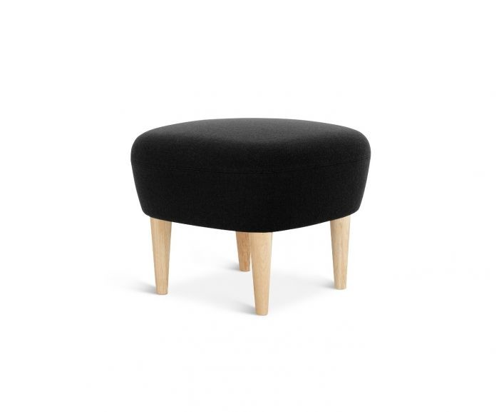 Wingback Short Ottoman Natural, Hero 101