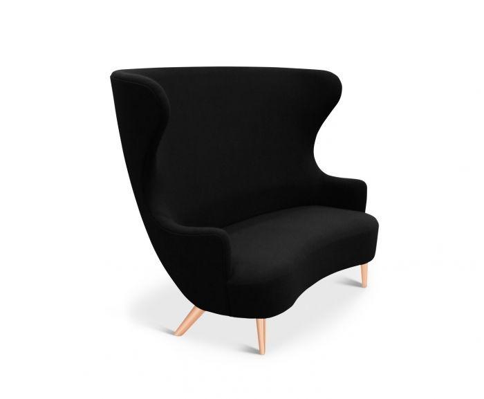 Wingback Sofa Copper, Hallingdal 65 190