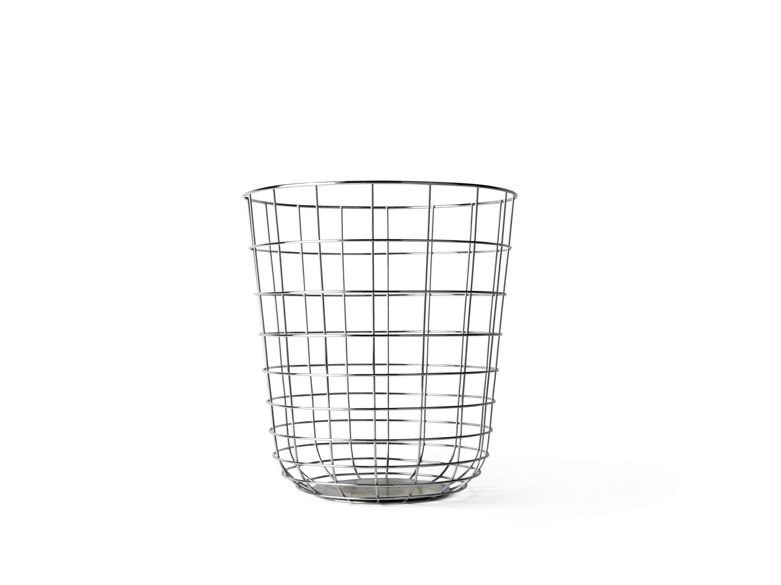 Wire Bin Chrome