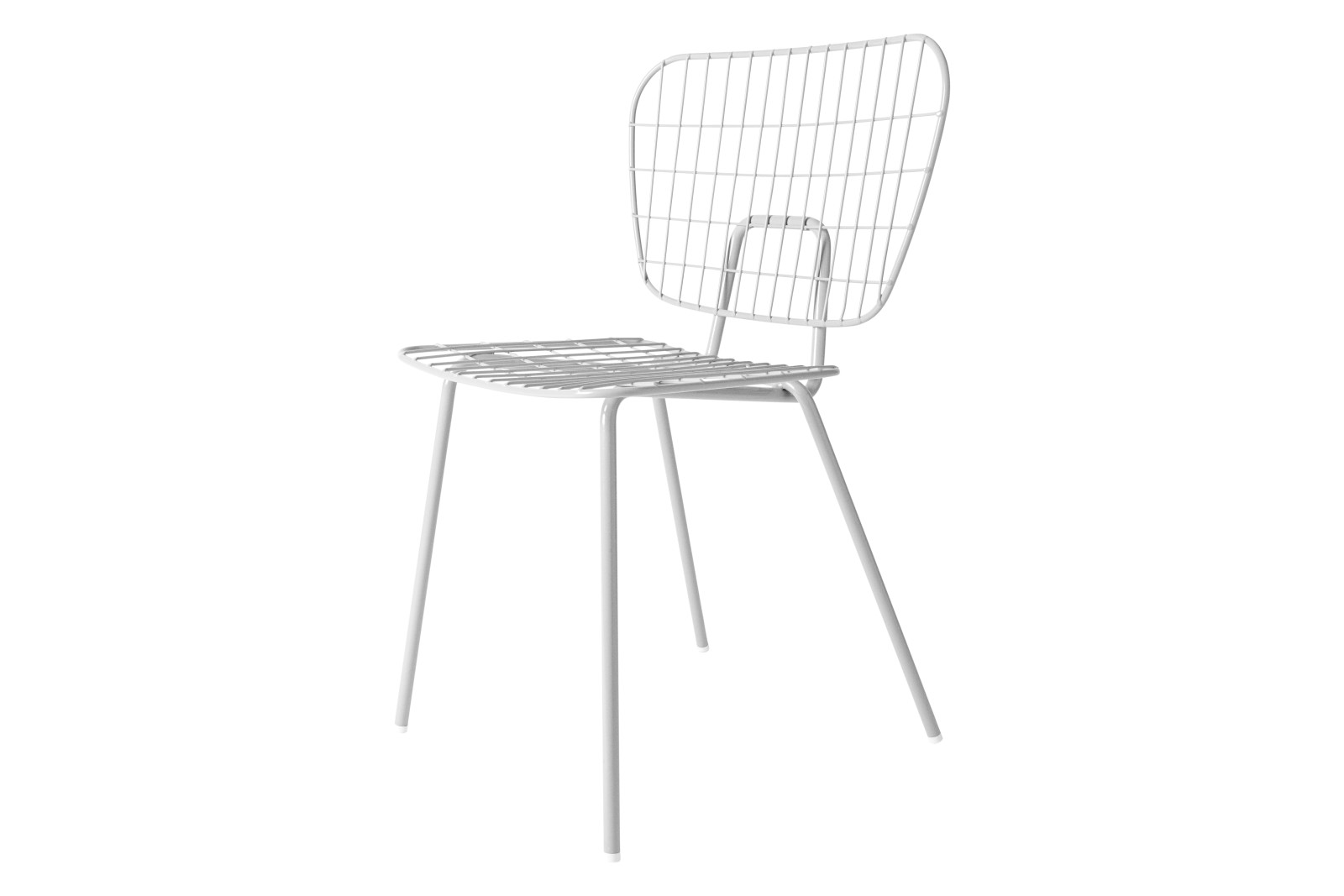 Wm String Dining Chair White