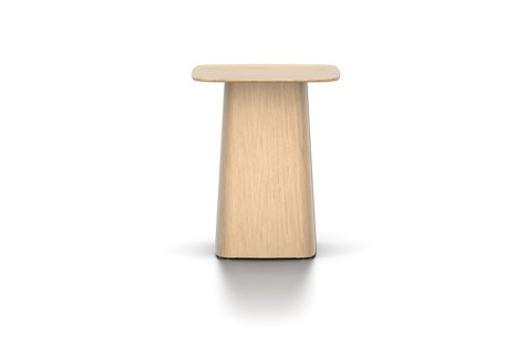 Wooden Side Table Light Oak, Small