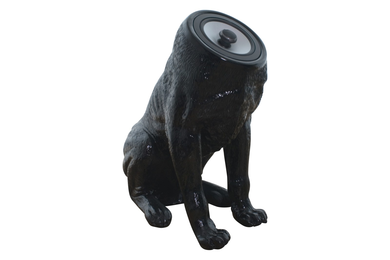 Woofers speakers black ( set of 2 dogs )