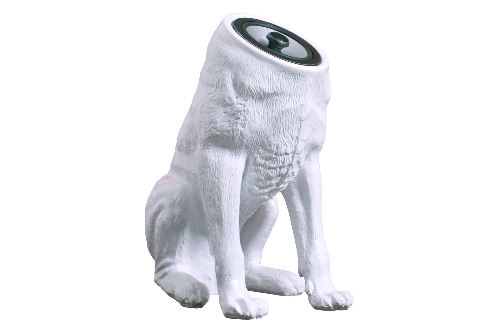 Woofers speakers white ( set of 2 dogs )