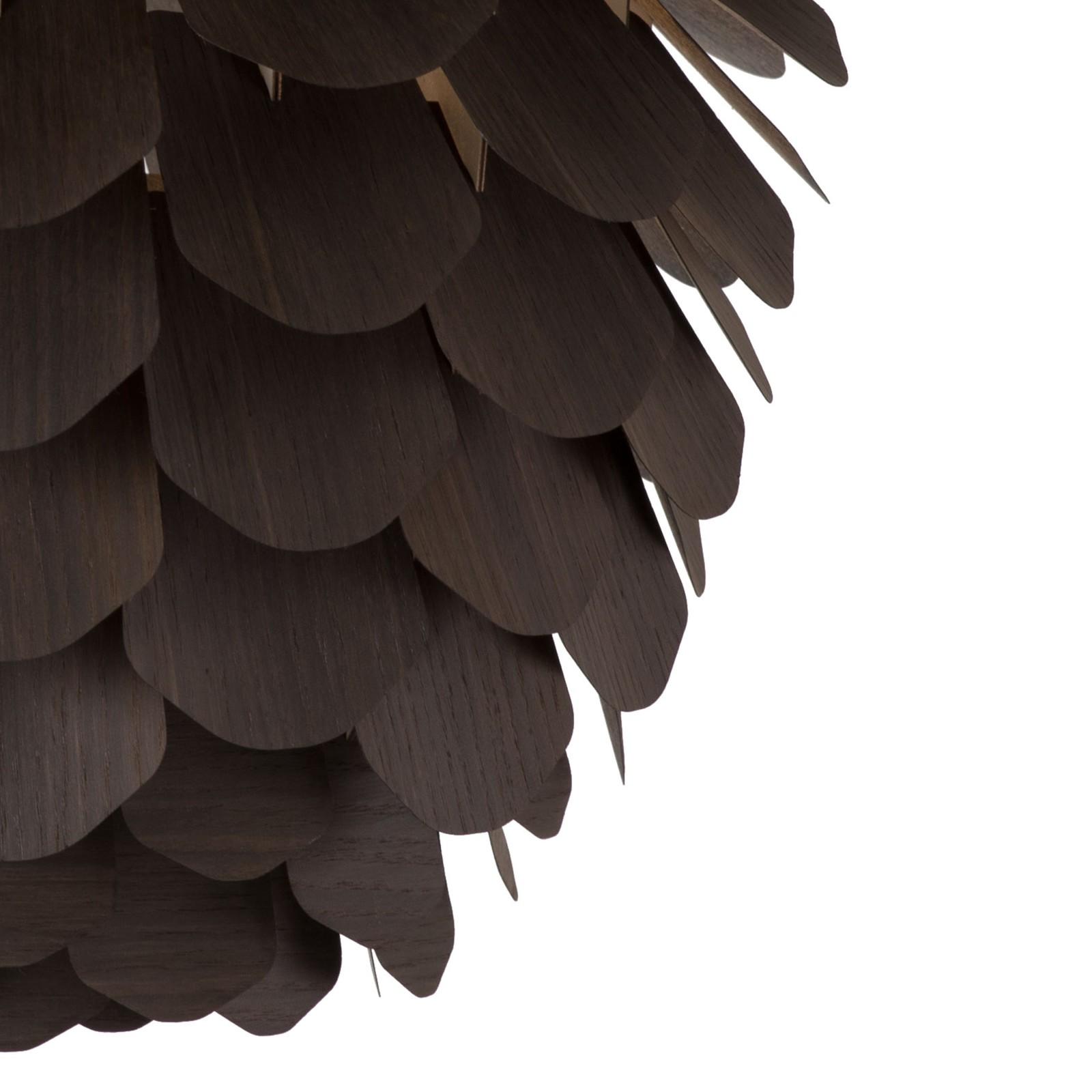 Zappy 'Big Pine' Pendant light Smoked Oak